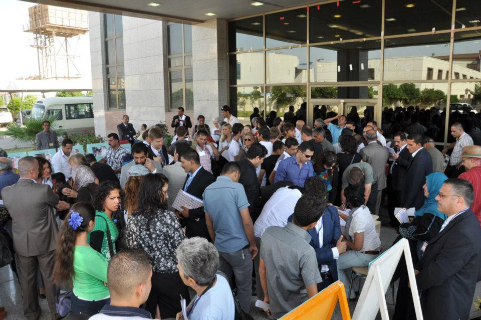 لحظات الدخول لمؤتمر المبادرة الثالث - اربيل 2011