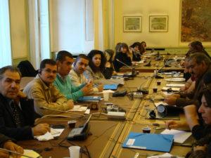 جانب من جلسات مؤتمر الثاني للمبادرة - باريس -2010