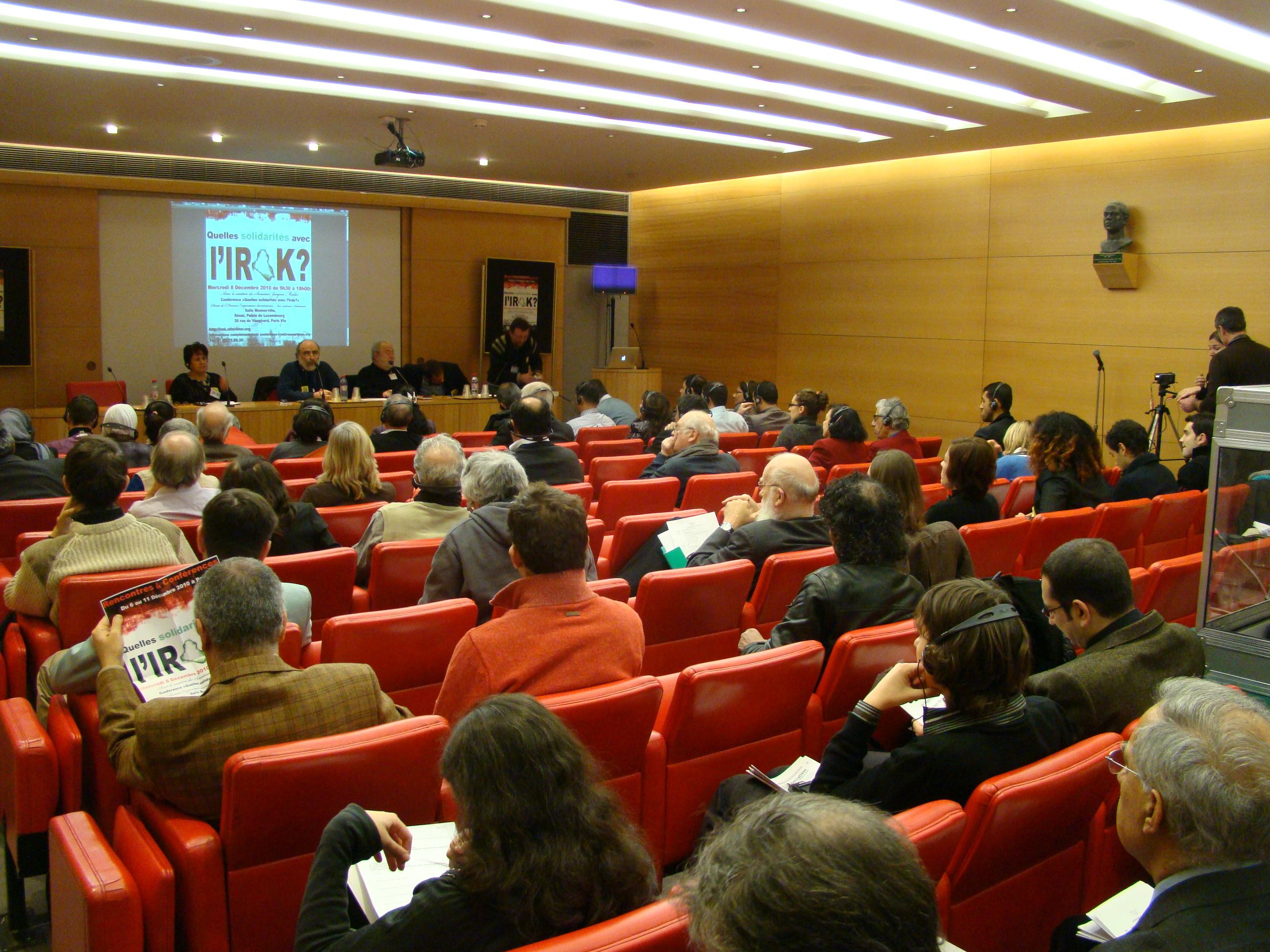 جانب من حضور المؤتمر الثاني للمبادرة في باريس