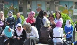 طالبات جامعة عراقية