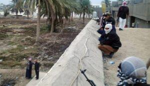 مسلحون في محافظة الانبار