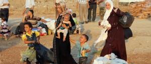 نازحون من الاقليات في الموصل