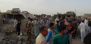 قرى للاقليات تعرضت لهجمات من  المتطرفين