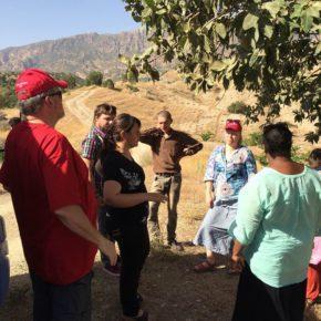 مقاومة الشباب لمحاولات الشركات الدولية لاستخراج النفط من ارضيهم وقراهم الزراعية في اقليم كوردستان
