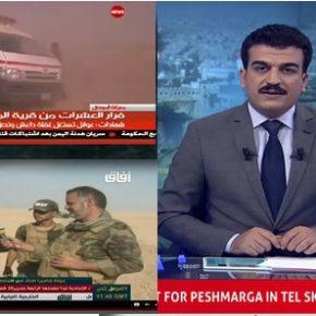 معركة الموصل في الإعلام: خطاب موحد وأغانٍ وطنية وبرامج حماسية