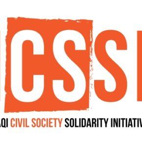 التضامن مع المجتمع المدني العراقي في نضاله اللاعنفي ضد الظلم والتطرف