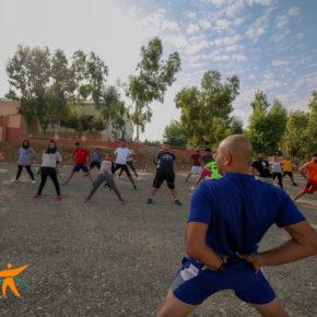 مخيم رياضي فريد من نوعه: رياضة ضد العنف الى المزيد من النجاحات
