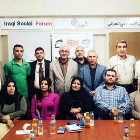 النقابات العراقية تكثف من إستعداداتها للمشاركة في أعمال الموسم الرابع للمنتدى الاجتماعي العراقي
