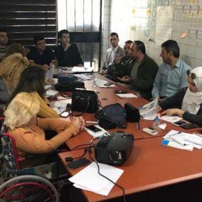 تدريب حول حماية النشطاء والمدافعين عن حقوق الانسان في اقليم كردستان