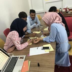 شباب الفلوجة والرمادي يطورون قدراتهم في تدريب بناء وتنفيذ الحملات