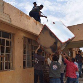 من وسط الركام يشع الامل لغد مشرق .. حملات دعم شبابية تطوعية في مدينة بيجي بعد تحريرها من عصابات داعش