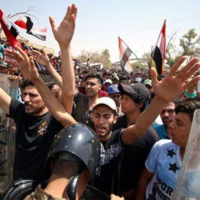 التهديدات البيئية ونقص المياه وفرص العمل السيئة وتدني الفوائد الاجتماعية تنتج احتجاجات ضخمة في جنوب العراق