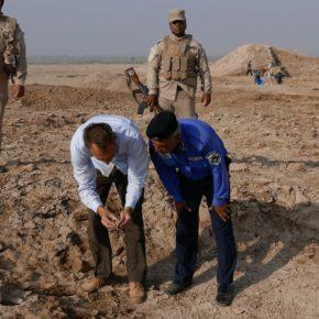 الآثار العراقية المنهوبة تعود إلى الوطن بعد ان قام خبراء بريطانين بإعادة فتح قضية قديمة غير محلولة