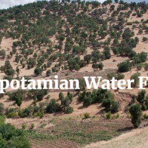الإعلان عن أول منتدى للمياه لبلاد الرافدين في السليمانية، آذار 2019 - دعوة لتقديم المساهمات!
