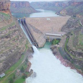 فيضان كارثي في نهر دجلة - سببه احد السدود التركية