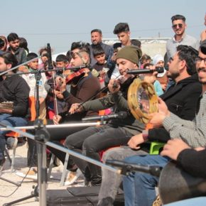 رياضة ضد العنف وفنون السلام في مخيم الحبانية للنازحين