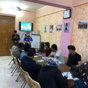 تدريب بناء وإدارة حملات المدافعة في الناصرية