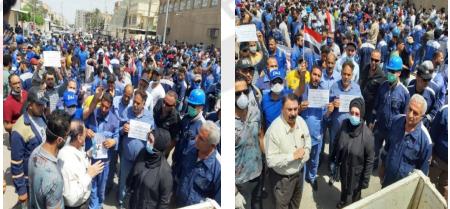 واقع حقوق العمال والموظفين في العراق اثناء جائحة كورونا