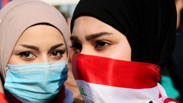 النساء في العراق من الثورة الى كورونا
