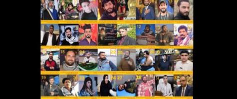 التقرير الدوري العاشر عن الانتهاكات خلال التظاهرات الشعبية
