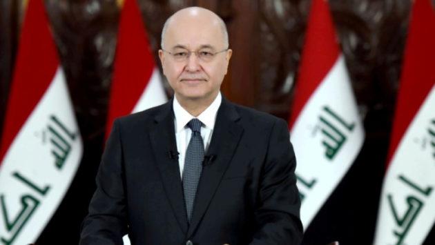 الرئيس صالح: ما يحصل في 'هرور وباتيفا' بإقليم كردستان ممارسات غير إنسانية